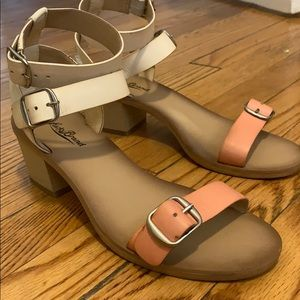 Lucky brand block heel
